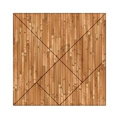 Parquet Floor Acrylic Tangram Puzzle (6  x 6 )