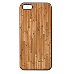 Parquet Floor Apple iPhone 5 Seamless Case (Black)