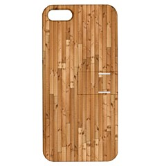 Parquet Floor Apple iPhone 5 Hardshell Case with Stand