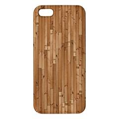 Parquet Floor Apple iPhone 5 Premium Hardshell Case