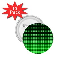 Neon Green And Black Halftone Copy 1.75  Buttons (10 pack)