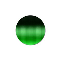 Neon Green And Black Halftone Copy Golf Ball Marker (10 pack)