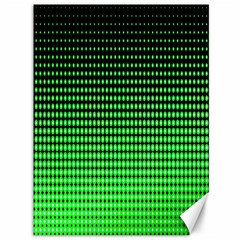 Neon Green And Black Halftone Copy Canvas 36  x 48