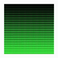 Neon Green And Black Halftone Copy Medium Glasses Cloth