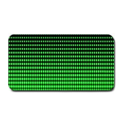 Neon Green And Black Halftone Copy Medium Bar Mats