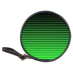 Neon Green And Black Halftone Copy Classic 20-CD Wallets