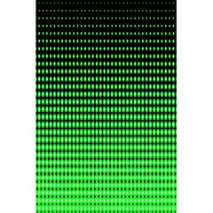 Neon Green And Black Halftone Copy 5.5  x 8.5  Notebooks