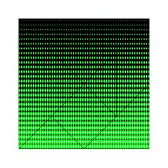 Neon Green And Black Halftone Copy Acrylic Tangram Puzzle (6  x 6 )