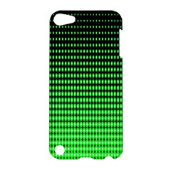 Neon Green And Black Halftone Copy Apple iPod Touch 5 Hardshell Case