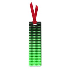 Neon Green And Black Halftone Copy Small Book Marks