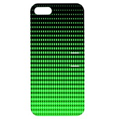 Neon Green And Black Halftone Copy Apple iPhone 5 Hardshell Case with Stand