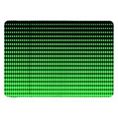 Neon Green And Black Halftone Copy Samsung Galaxy Tab 8.9  P7300 Flip Case