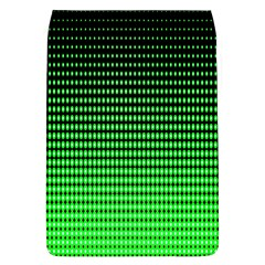 Neon Green And Black Halftone Copy Flap Covers (L)