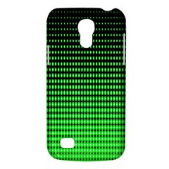 Neon Green And Black Halftone Copy Galaxy S4 Mini