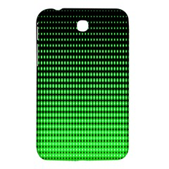 Neon Green And Black Halftone Copy Samsung Galaxy Tab 3 (7 ) P3200 Hardshell Case