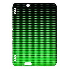 Neon Green And Black Halftone Copy Kindle Fire HDX Hardshell Case
