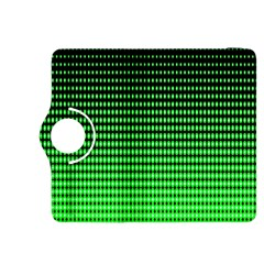 Neon Green And Black Halftone Copy Kindle Fire HDX 8.9  Flip 360 Case