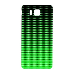 Neon Green And Black Halftone Copy Samsung Galaxy Alpha Hardshell Back Case