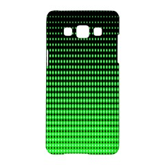 Neon Green And Black Halftone Copy Samsung Galaxy A5 Hardshell Case