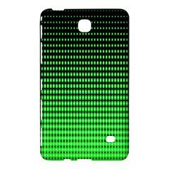 Neon Green And Black Halftone Copy Samsung Galaxy Tab 4 (7 ) Hardshell Case