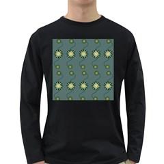 Repeat Long Sleeve Dark T-Shirts