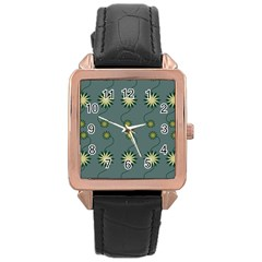 Repeat Rose Gold Leather Watch