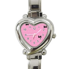 Ribbon Headbands Heart Italian Charm Watch