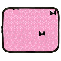 Ribbon Headbands Netbook Case (Large)