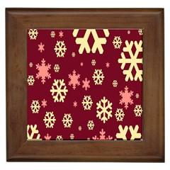 Red Resolution Version Framed Tiles
