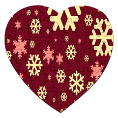 Red Resolution Version Jigsaw Puzzle (Heart)