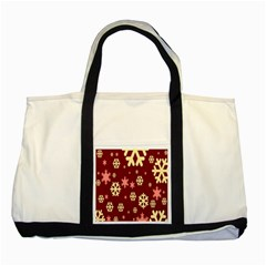 Red Resolution Version Two Tone Tote Bag