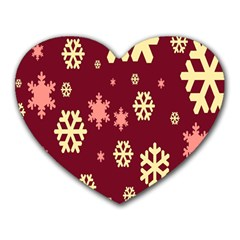 Red Resolution Version Heart Mousepads