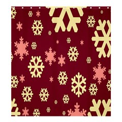 Red Resolution Version Shower Curtain 66  x 72  (Large)