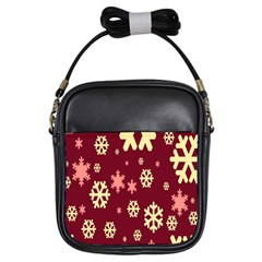 Red Resolution Version Girls Sling Bags