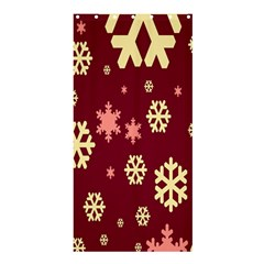 Red Resolution Version Shower Curtain 36  x 72  (Stall)