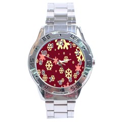 Red Resolution Version Stainless Steel Analogue Watch