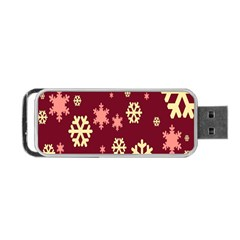 Red Resolution Version Portable USB Flash (One Side)