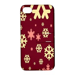Red Resolution Version Apple iPhone 4/4S Hardshell Case with Stand
