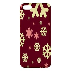 Red Resolution Version iPhone 5S/ SE Premium Hardshell Case