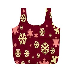Red Resolution Version Full Print Recycle Bags (M)