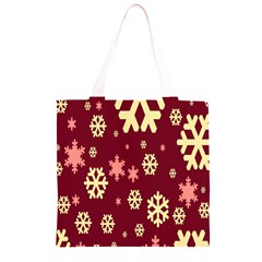 Red Resolution Version Grocery Light Tote Bag