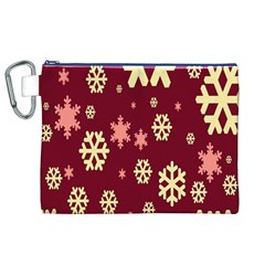 Red Resolution Version Canvas Cosmetic Bag (XL)