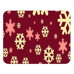 Red Resolution Version Double Sided Flano Blanket (Large)