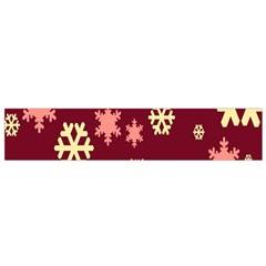 Red Resolution Version Flano Scarf (Small)