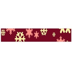 Red Resolution Version Flano Scarf (Large)