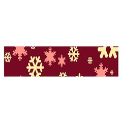 Red Resolution Version Satin Scarf (Oblong)