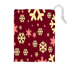 Red Resolution Version Drawstring Pouches (Extra Large)