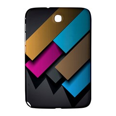 Shapes Box Brown Pink Blue Samsung Galaxy Note 8.0 N5100 Hardshell Case