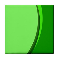 Simple Green Tile Coasters