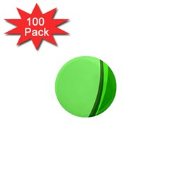 Simple Green 1  Mini Magnets (100 pack)